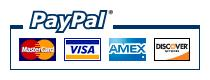 Pay with Credit Card or PayPal!